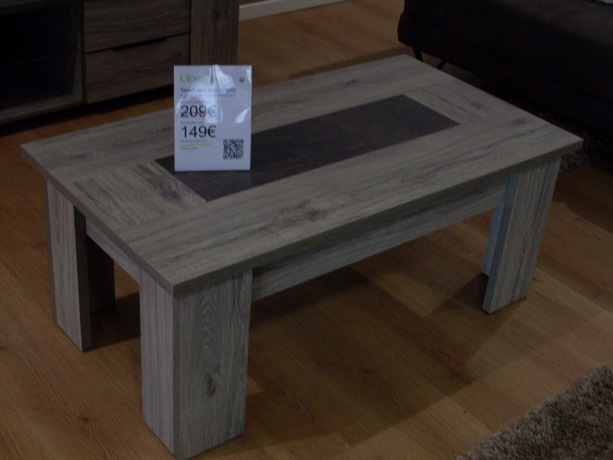 Rock 100x60 d fense d 39 entrer mobilier for Avis meubles concept
